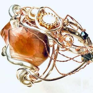 Caramel Apple Bracelet